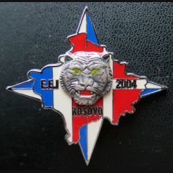 EEI : escadron d'éclairage et d'investigation EEI au Kosovo en 2004 fabrication Shéli