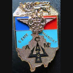 ACM : affaires civilo militaires 6° mandat KFOR