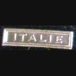 """BARRETTE """"ITALIE"""" ARGENTÉE POUR MÉDAILLE MINIATURE"""