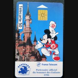 télécarte 50 unités Disneyland France télécom