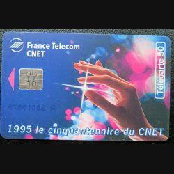 télécarte 50 unités 1995 le cinquantenaire du CNET France télécom