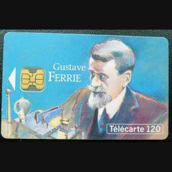télécarte 120 unités Gustave Ferrié France télécom