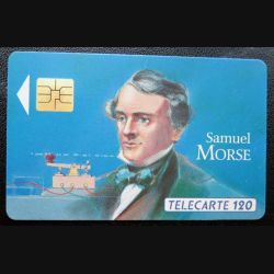 télécarte 120 unités Samuel Morse France télécom
