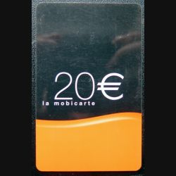 Mobicarte 20 € Orange