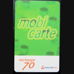 Mobicarte recharge 70 F France Telecom