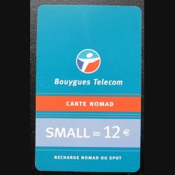 Bouygues Telecom Carte Nomad small 12 €