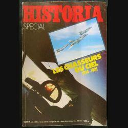 Historia Spécial N° 420 bis-Les chasseurs du ciel 1914-1981 aux éditions Librairie Jules Tallandier