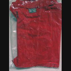 T shirt Maillot de sport militaire rouge neuf Taille 96 Impact 2006