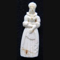 Fève reine en plastique