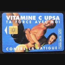 télécarte 120 unités Vitamine C UPSA ta force avec moi France télécom