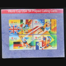Sprint World Cup USA '94 Prepaid Calling Cards pack de 4 cartes dans son emballage