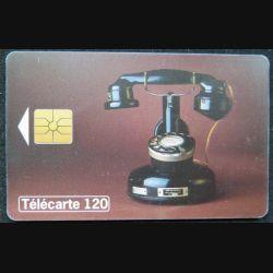 télécarte 120 unités Collection historique téléphone PTT 24 France télécom