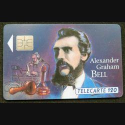 télécarte 120 unités Alexander Graham Bell France télécom