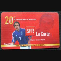 SFR la Carte 20 € série spéciale équipe de France de Football