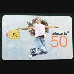 télécarte 50 unités France télécom