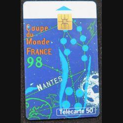 télécarte 50 unités France télécom Coupe du monde France 98