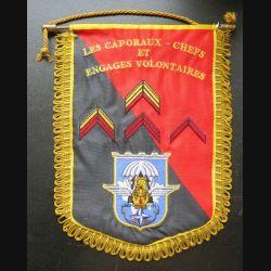 17° RGP : fanion des C/C et Engagés volontaires du 17° RGP du Bataillon logistique 25 x 18 cm
