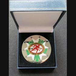 152° RI : médaille du centenaire du 152° régiment d'infanterie dans son coffret