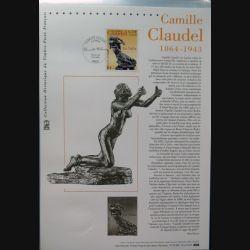 Document philatéliques officiels la poste Camille Claudel 1864-1943