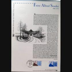 Document philatéliques officiels la poste Frère Alfred Stanke 1904 - 1975