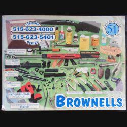 Catalogue d'armes Brownells N° 51 1998-1999 par les éditions Brownells Inc.
