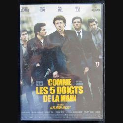 DVD : Comme les 5 doigts de la main un film de Alexandre Arcadyr avec Patrick Bruel,Vincent Elbaz,Pascal Elbé