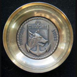 Coupelle métallique argentée du bâtiment école Chacal fab FIA