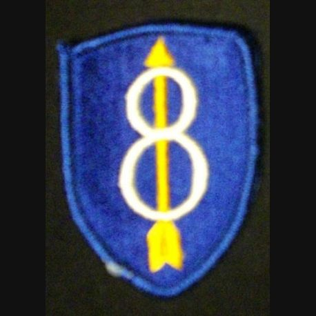 8° DIVISION PATCH US ARMY