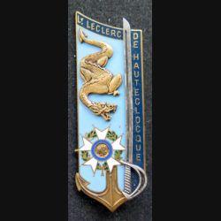 """PROMOTION EMIA : Promotion de l'école militaire interarmes """" Lt Leclerc de Hauteclocque """" fabriqué par Fraisse G. 3037"""