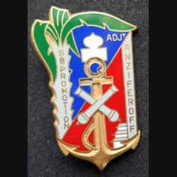 PROMOTION EAASA : Promotion de l'école d'artillerie coloniale Adjt Anziferoff fabrication Fraisse