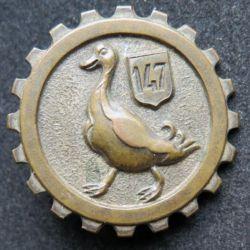 147 - 44° CTP : Compagnie de transport de personnel de fabrication Fraisse Demey bout épingle cassé
