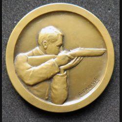 médaille de bronze de tir offert par le ministre du de la guerre