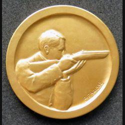 médaille de bronze doré de tir et éducation physique offert par le ministre
