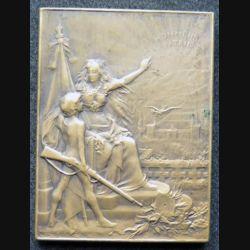 médaille en bronze de l'Union des sociétés de tir 5 x 3,8 cm