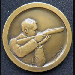 médaille en bronze de l'éducation physique offert par le Ministre diamètre 5 cm