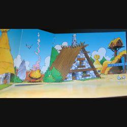 Décor du Camp d'Astérix Plastoy collectoys Atlas 2001