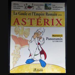 La Gaule et l'empire Romain avec Astérix n°2 Panoramix le druide ed Atlas