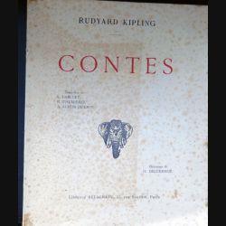 Contes de Rudyard Kipling illustrations Deluermoz librairie Delagrave