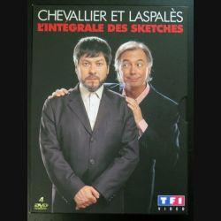 DVD : Chevallier et Laspalès intégrale des sketches 4 DVD