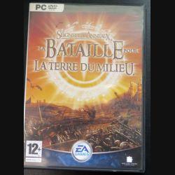 Jeu pour PC DVD ROM : La bataille pour la terre du milieu Le Seigneur des Anneaux