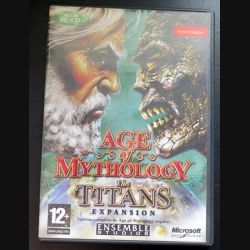 Jeu pour PC CD-ROM : Age of Mythology the titans expansion version en français
