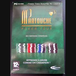 Jeu pour PC CD-ROM :Partouche poker tour jeu méthode stratégies