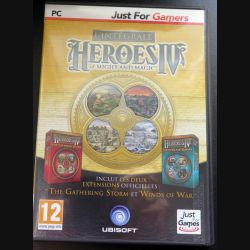 Jeu pour PC DVD ROM : intégrale Heroes IV of Might and magic