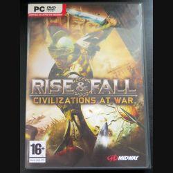 Jeu pour PC DVD ROM : Rise & Fall civilizations at war