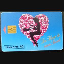 télécarte 50 unités France télécom Ciby 2000 La Fleur de mon secret