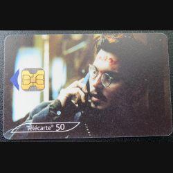 télécarte 50 unités France Johnny Derr dans la neuvième porte 1999