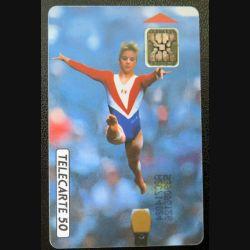 télécarte 50 unités France télécom Championnats du monde de gymnastique Paris 1992