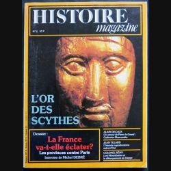 Histoire magazine N° 2 de Mars-Avril 1980 l'Or des Scythes
