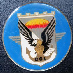 17° RGP : médaille plaque de 7,3 cm de la CCL compagnie commandement et logistique
