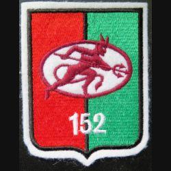 152° RI : insigne tissu 10,5 x 8 cm du 152° régiment d'infanterie